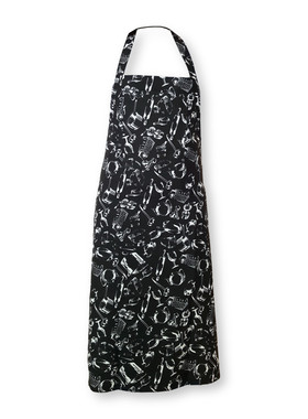 BLACK CHEF APRON